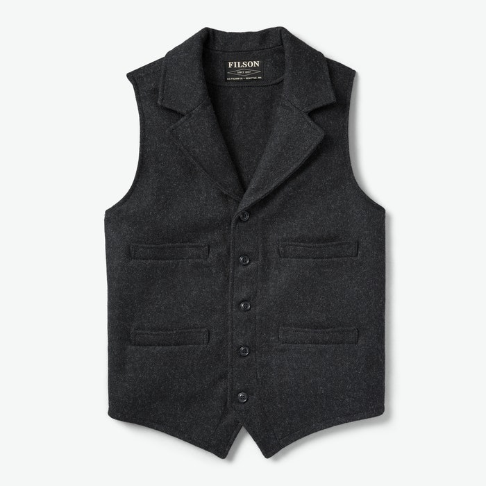1920s Style Mens Vests Western Vest $195.00 AT vintagedancer.com