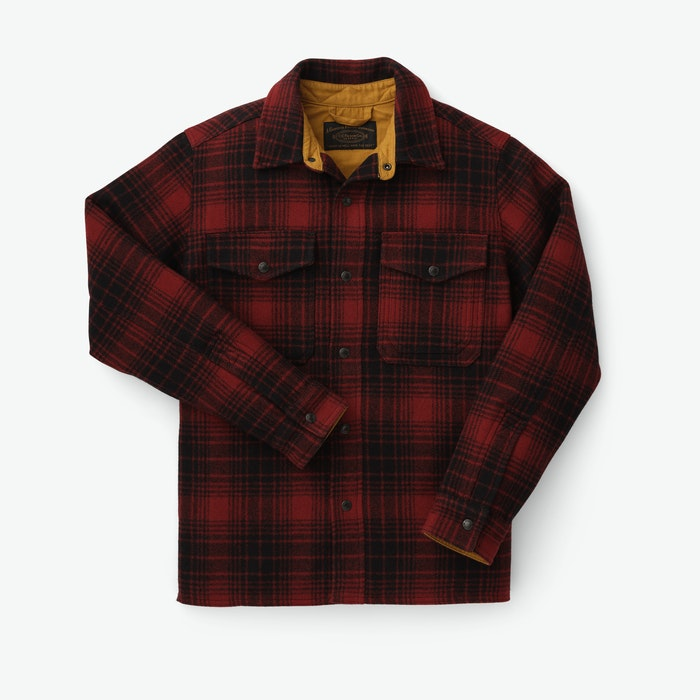 Men's Vintage Workwear Inspired Clothing Mackinaw Jac-Shirt $350.00 AT vintagedancer.com