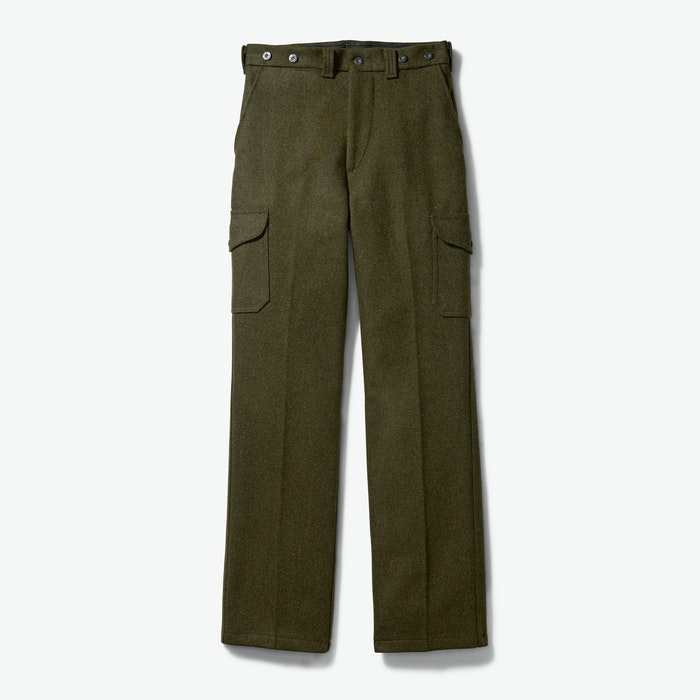 Men's Vintage Workwear Inspired Clothing Mackinaw Field Pants $325.00 AT vintagedancer.com