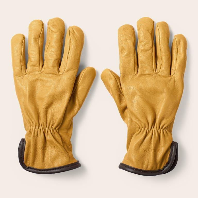 Discover the Filson Original Lined Goatskin Gloves. Soft, versatile goatskin gloves with warm Merino Wool lining.