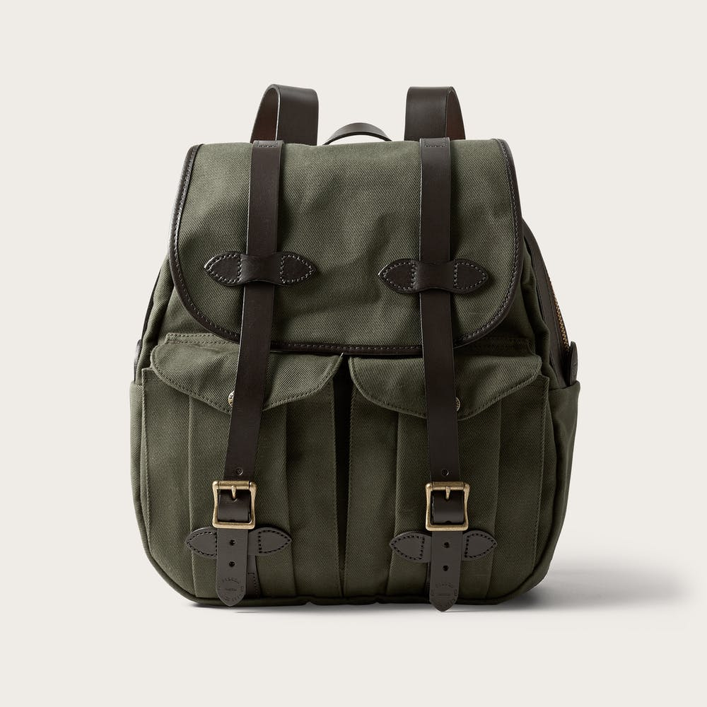 Rugged Twill Rucksack Backpack   Rugged, All Purpose   Filson 7643d0deef