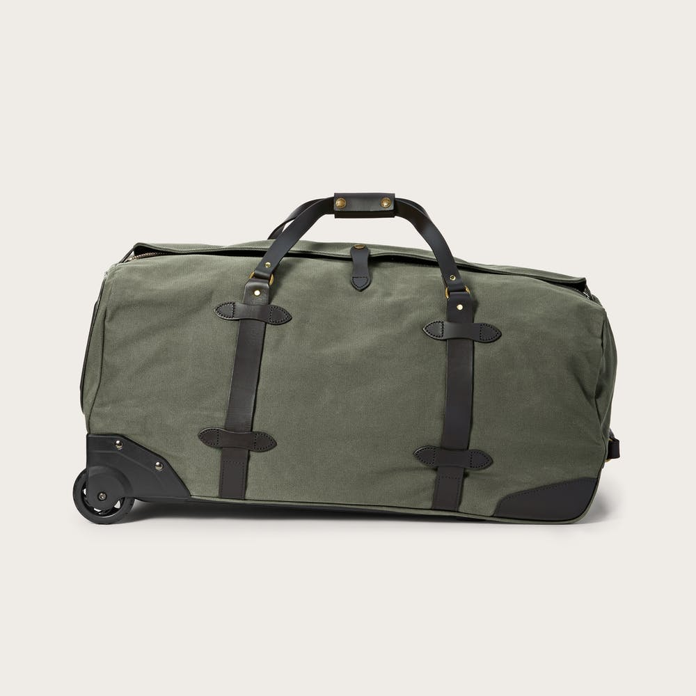 Large Rugged Twill Rolling Duffle Bag Main