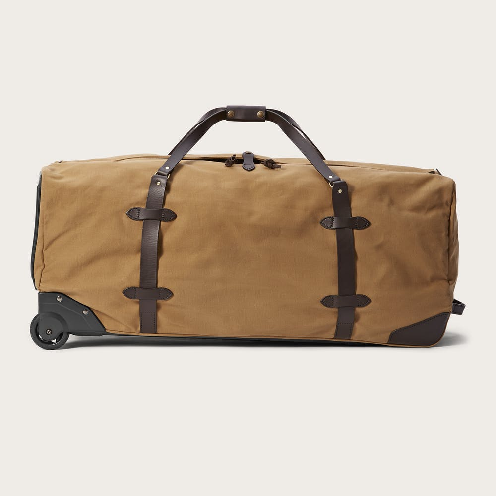 Extra Large Rugged Twill Rolling Duffle Bag Main
