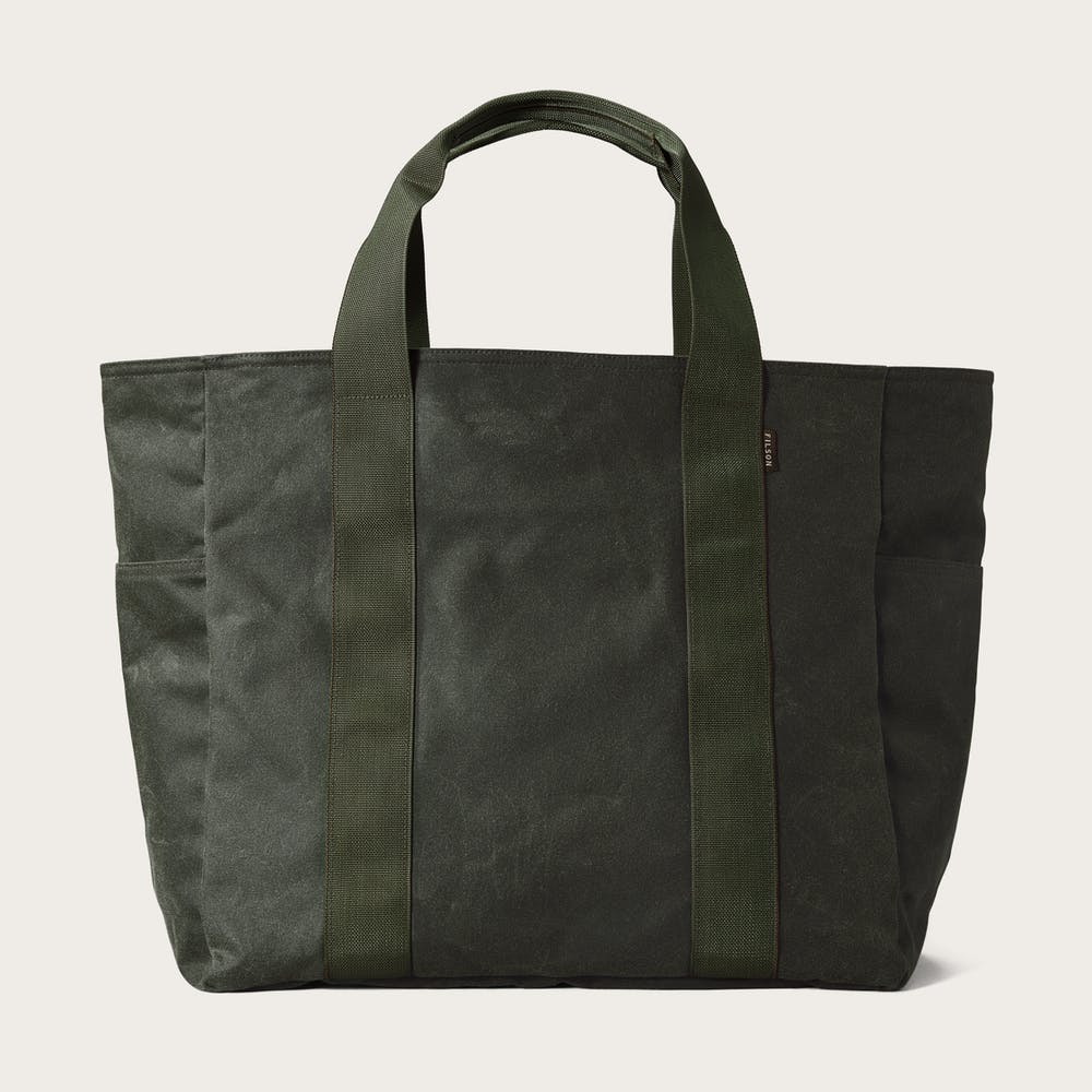 3a94e63fec6d Large Tin Cloth Grab  n  Go Tote Bag
