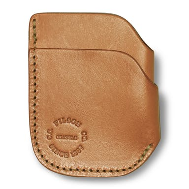 Free shipping. All the time. Guaranteed. Discover Filson's Front Pocket Cash & Card Case. This three-slot Bridle Leather wallet is designed to fit comfortably in the front pocket of your pants, or your shirt pocket