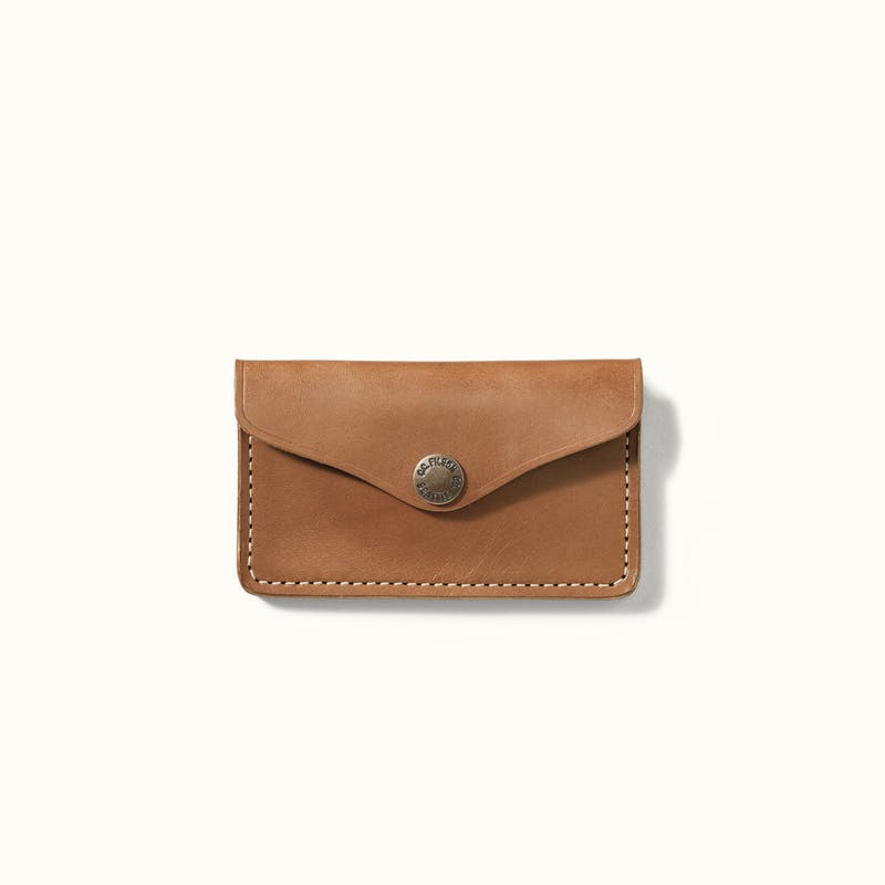 Bridle Leather Snap Wallet