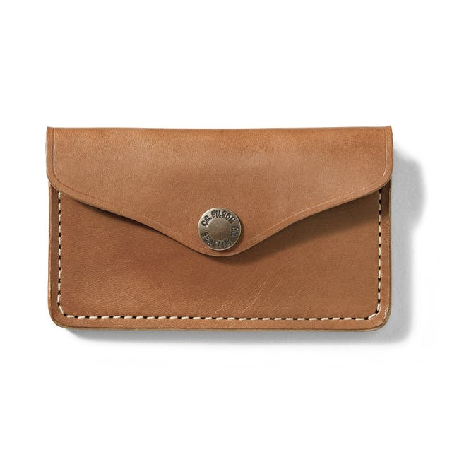 2f8bcc2e8d8a Bridle Leather Snap Wallet - Tan Leather
