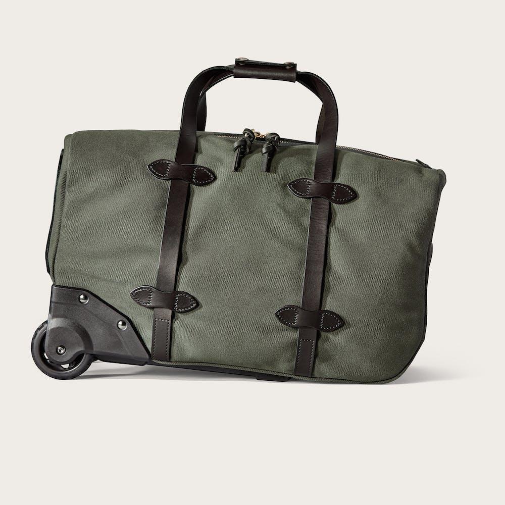 Small Rugged Twill Rolling Duffle Bag Main