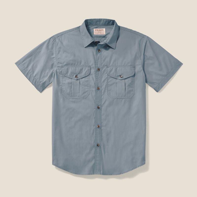 Feather Cloth Short Sleeve Shirt