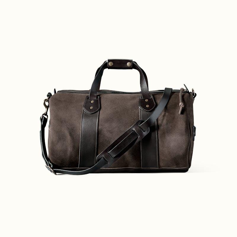 Medium Rugged Suede Duffle Bag