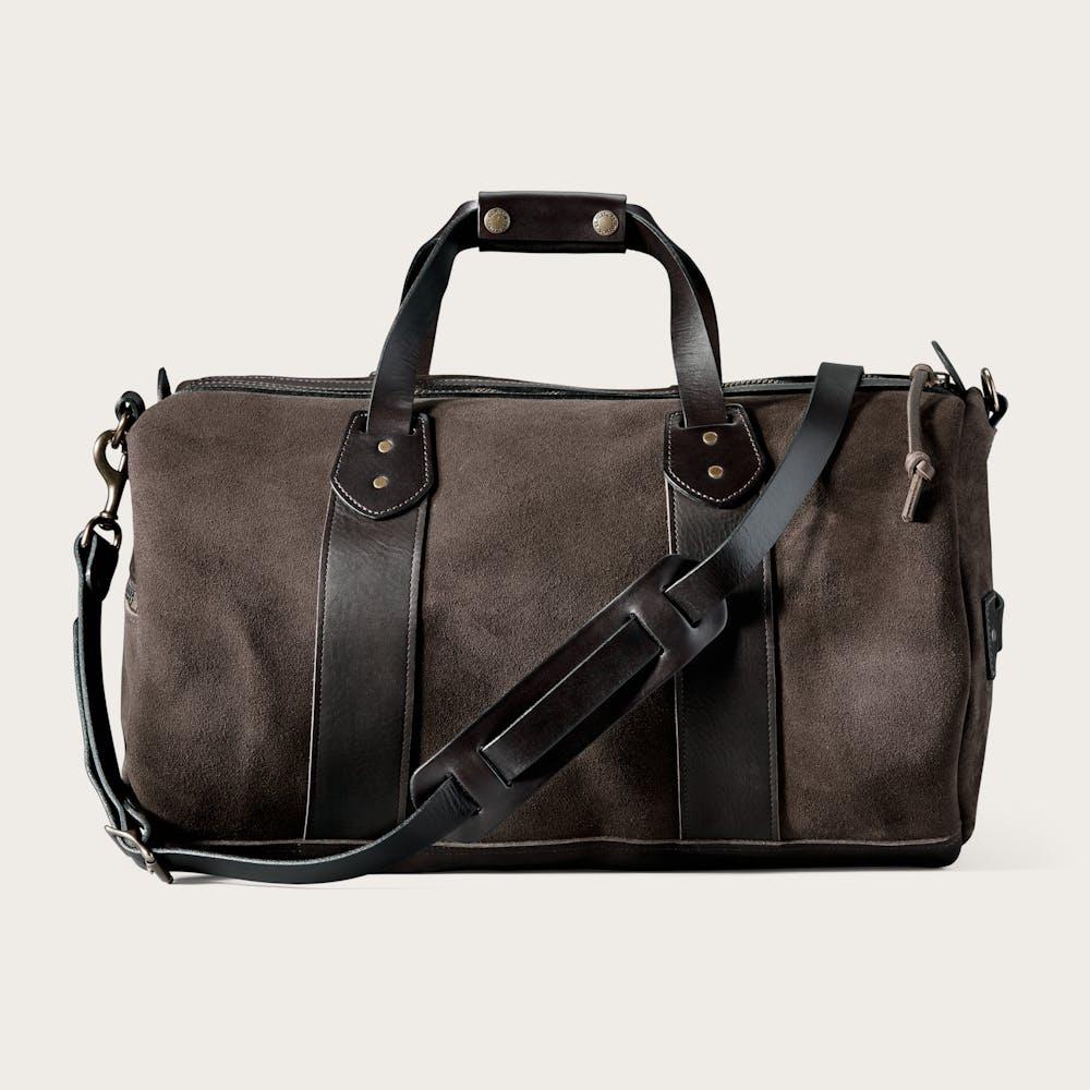 Medium Rugged Suede Duffle Bag Main