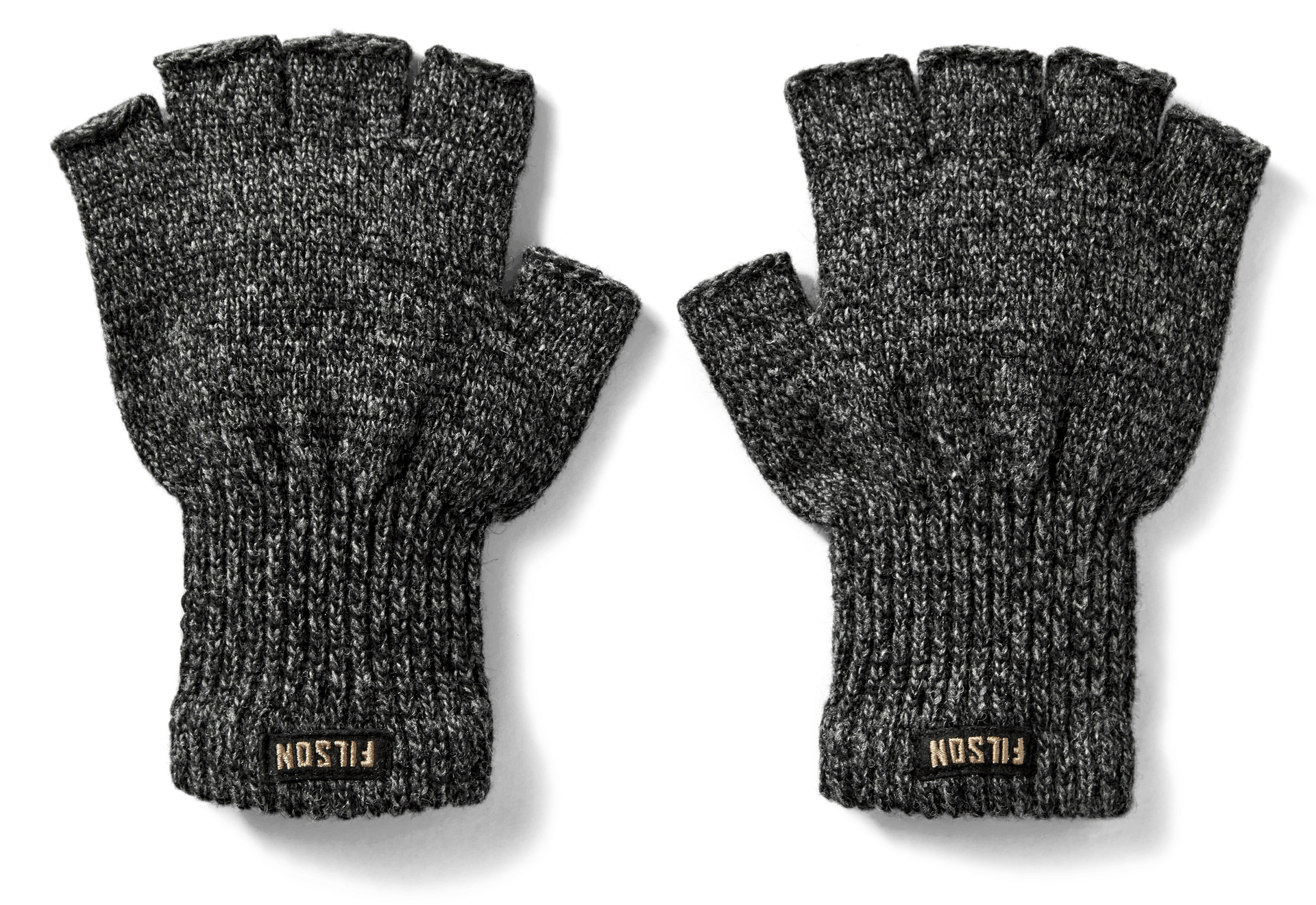 Premium Quality Collection Mens Knitted Fingerless Gloves One Size Fits Most.