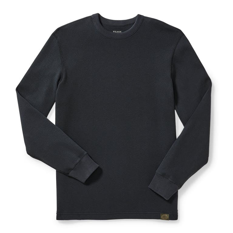 Discover the Filson Waffle Knit Thermal Crew.