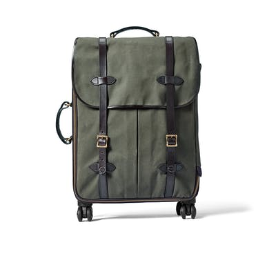 Rugged Twill Rolling 4 Wheel Check In Bag