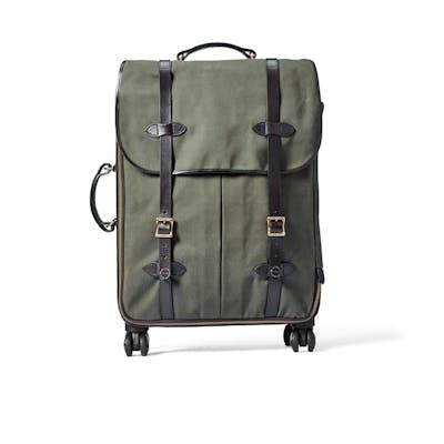 5ecfaa409e6a Rugged Twill Rolling 4-Wheel Check-In Bag