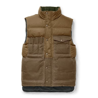 Discover the Filson Down Cruiser Vest. A warm, versatile layer that can be worn on its own or layered under a jacket.
