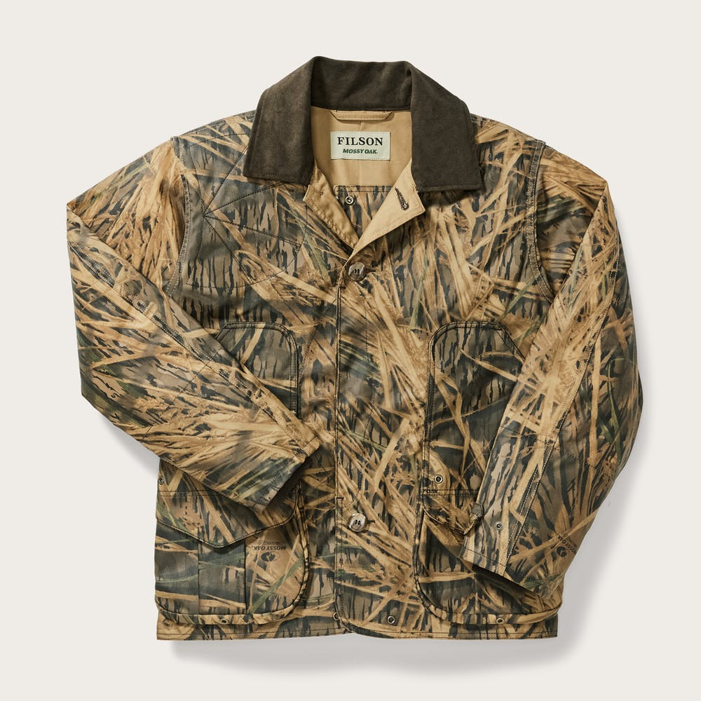 69ee74d2 Filson x Mossy Oak® Shelter Cloth Waterfowl/Upland Coat | Filson