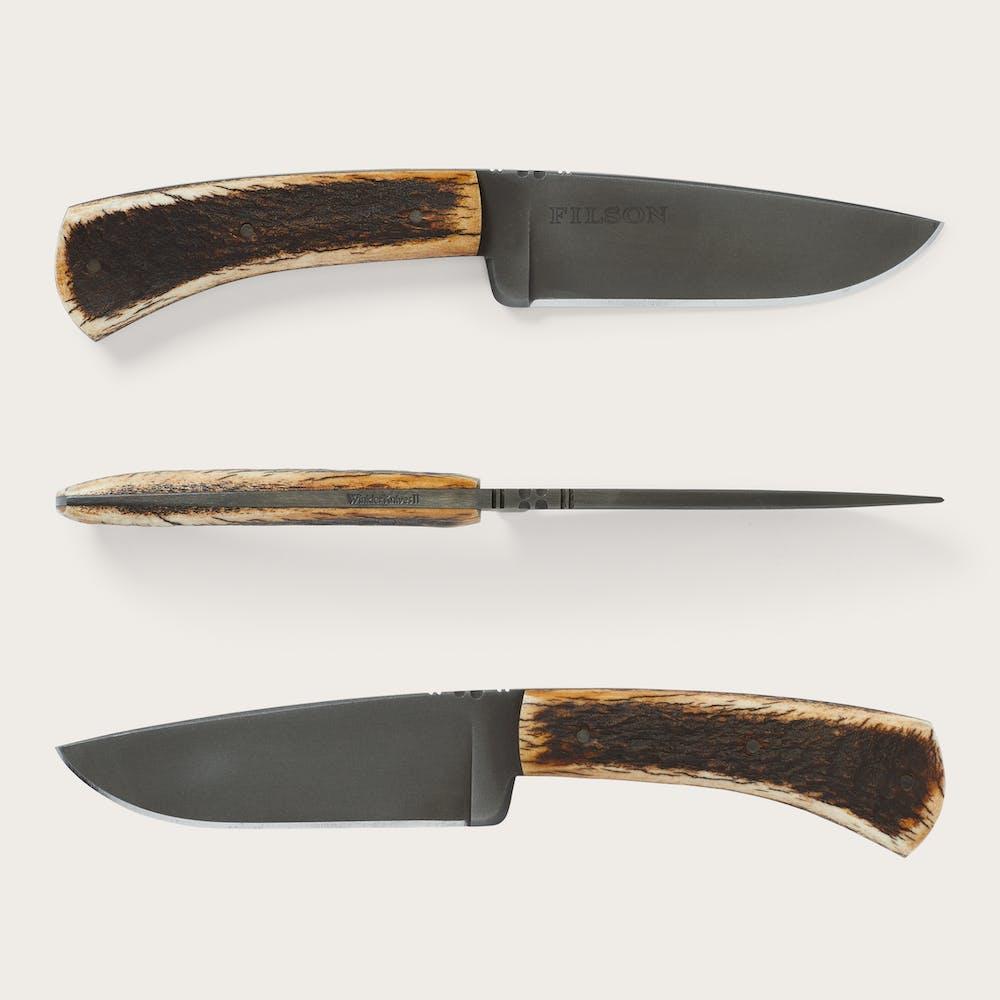 Elk Antler Winkler Knife