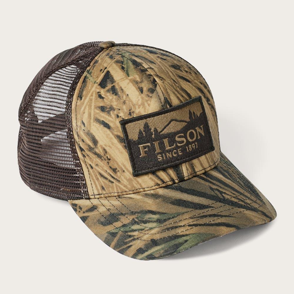 Filson x Mossy Oak® Camo Logger Mesh Cap 97894f1061df