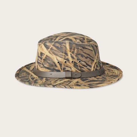 d4367a48ca1 Filson x Mossy Oak® Camo Tin Cloth Packer Hat