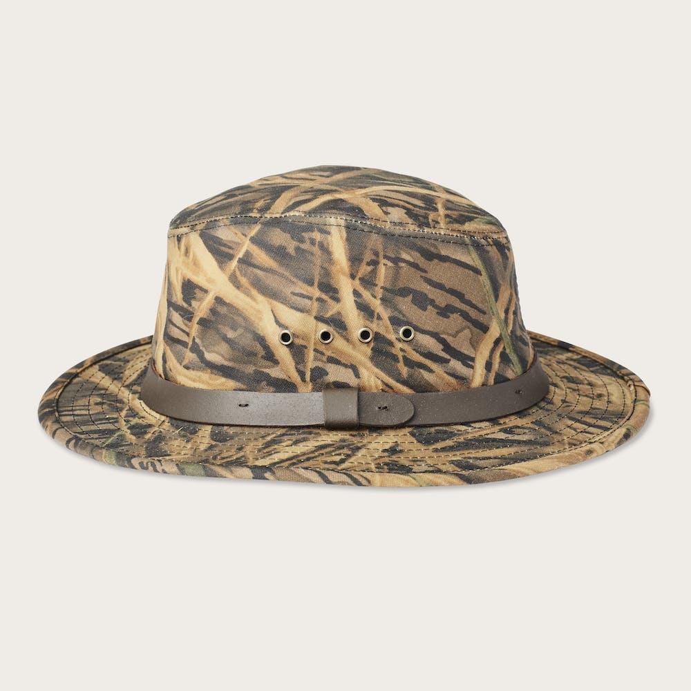 c599ee41f Filson x Mossy Oak® Camo Tin Cloth Packer Hat