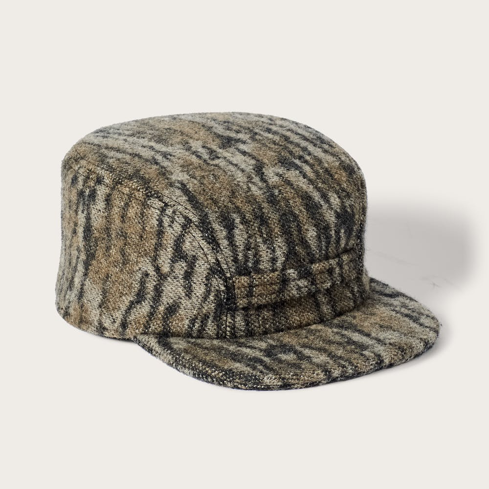 e08f788d Filson x Mossy Oak® Mackinaw Wool Cap | Filson
