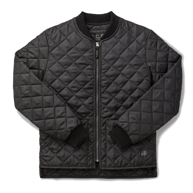 C C F Quilted Utility Jacket Filson