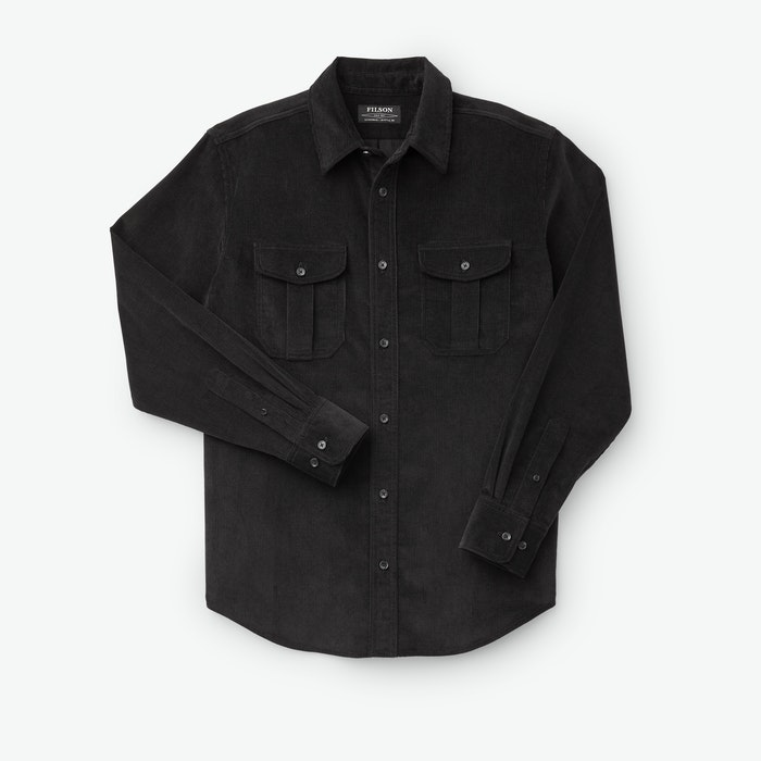 Men's Vintage Workwear Inspired Clothing 11-Wale Corduroy Shirt $175.00 AT vintagedancer.com