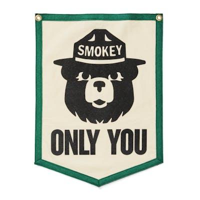 dac278084c0 Smokey Bear Only You Banner