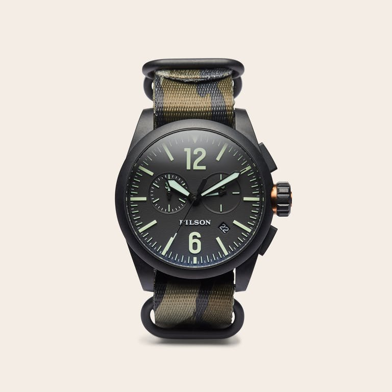 Discover the Filson Chronograph Watch.